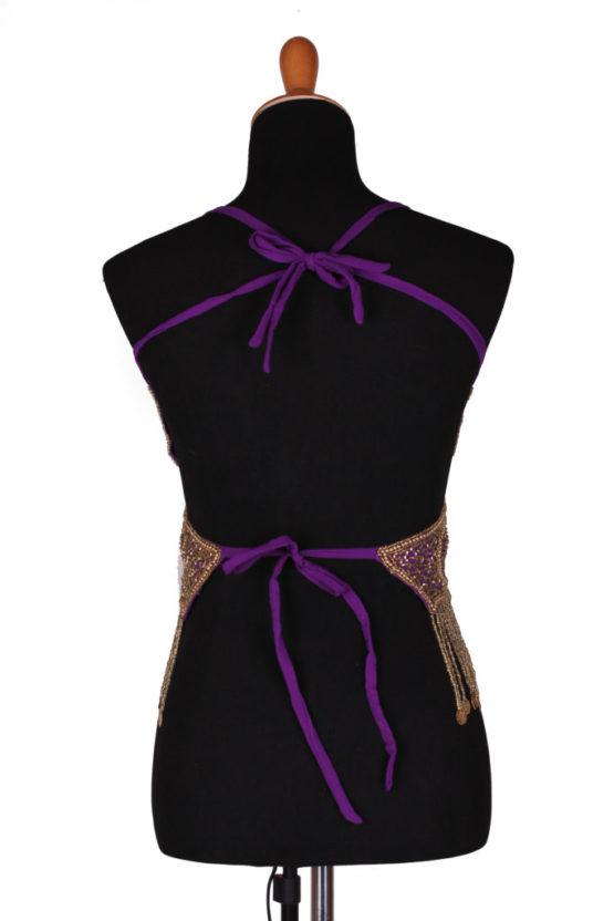 Purple-Gold - Back